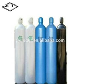 80L seamless steel oxygen gas cylinder