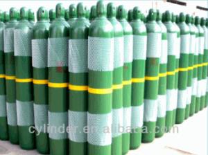 high pressure seamless steel hydrogen gas cylinder