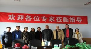 Belarusian clients visit our company.